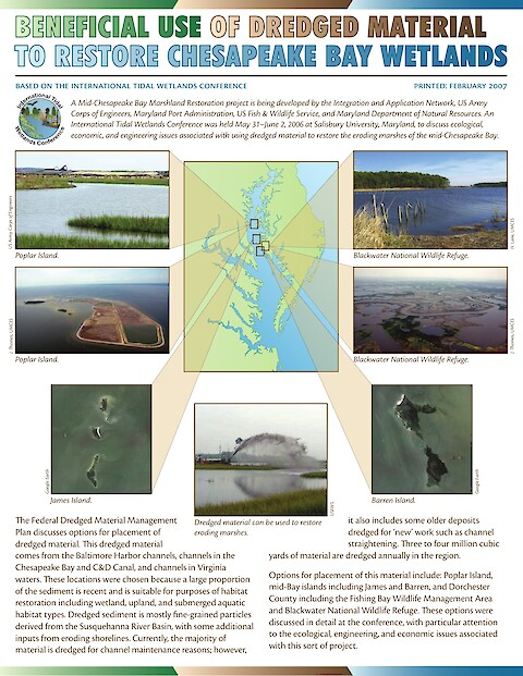 Beneficial use of dredged material to restore Chesapeake Bay wetlands (Page 1)