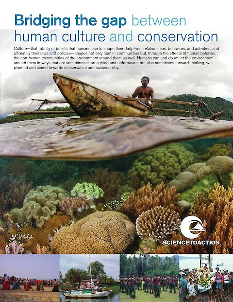 Bridging the gap between human culture and conservation (Page 1)