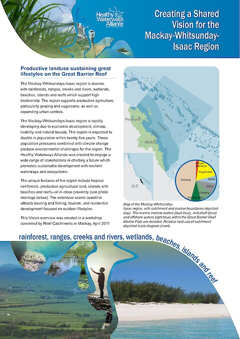 Creating a Shared Vision for the Mackay-Whitsunday-Isaac Region (Page 1)