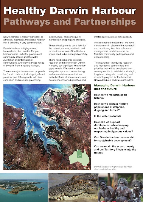 Healthy Darwin Harbour: Pathways and Partnerships (Page 1)
