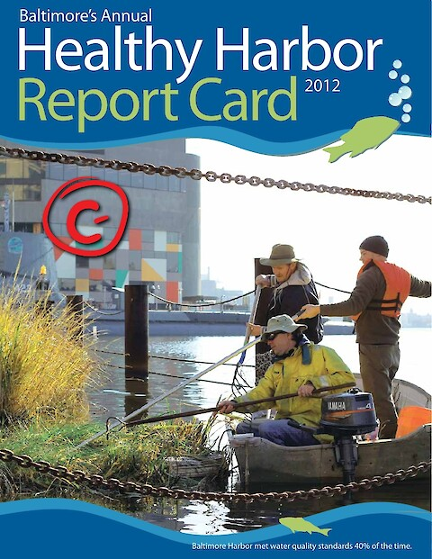 Baltimore Healthy Harbor Report Card 2012 (Page 1)