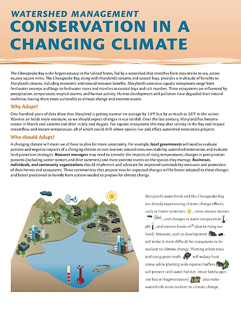 Watershed Management: Conservation in a changing climate (Page 1)