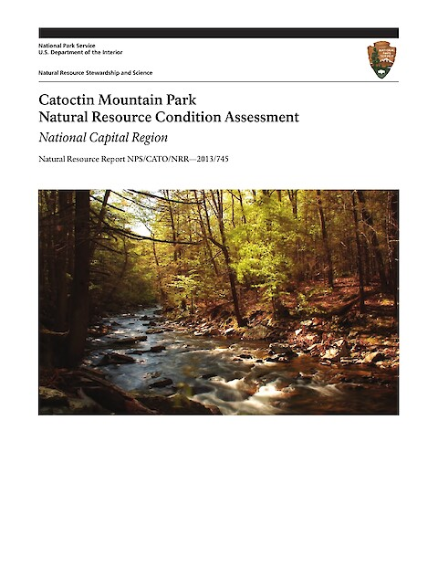 Catoctin Mountain Park Natural Resource Condition Assessment (Page 1)