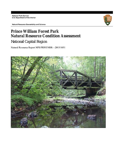 Prince William Forest Park Natural Resource Condition Assessment (Page 1)
