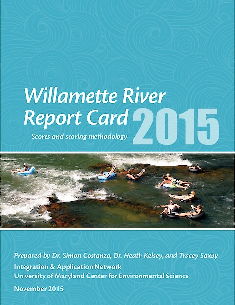 Willamette River Report Card 2015 (Page 1)