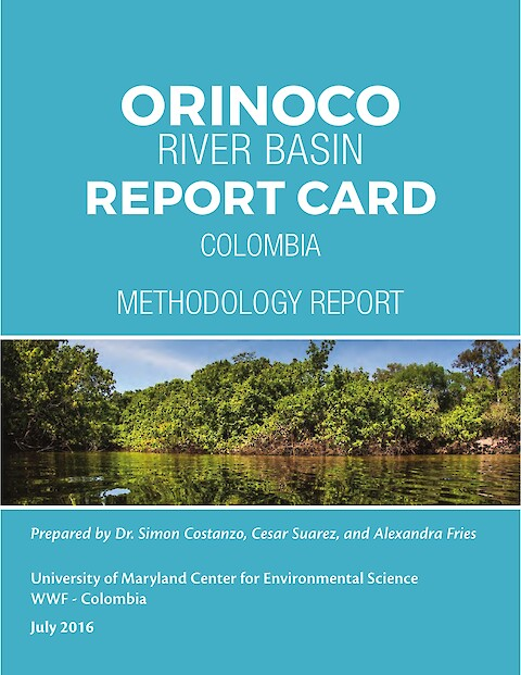 Orinoco River Basin Report Card Methodology Report (Page 1)