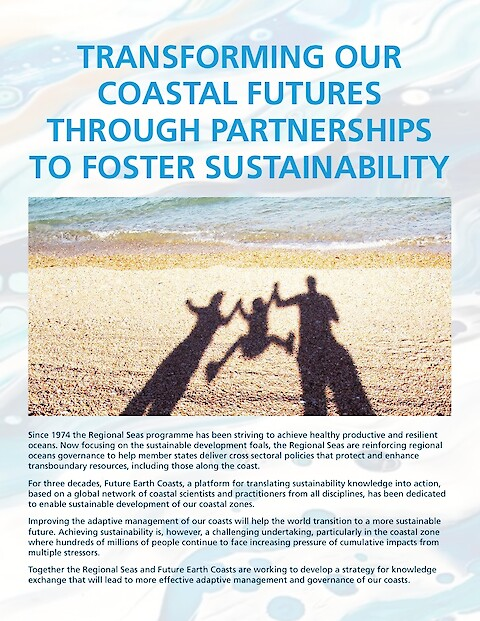 Transforming our coastal futures through partnerships to foster sustainability (Page 1)