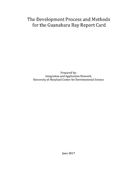 The Development Process and Methods for the Guanabara Bay Report Card (Page 1)