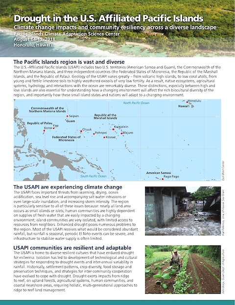 Drought in the U.S. Affiliated Pacific Islands (Page 1)