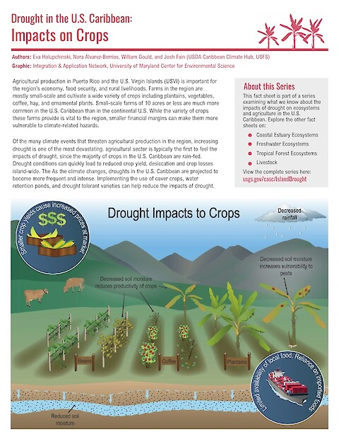 Drought in the U.S. Caribbean: Fact Sheets (Page 1)