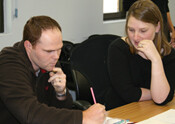 Students at Science Communication Course