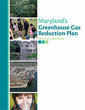 Maryland's Greenhouse Gas Reduction Plan cover