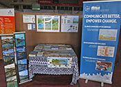 IAN booth at the 9th Pacific Islands Conference on Nature Conservation and Protected Areas