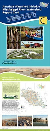 Missouri River basin newsletter and Mississippi Report Card