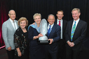 The 2014 Theiss International Riverprize was awarded to The International Commission for the Protection of the Rhine River
