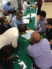 Gulf of Mexico Report Card meeting in Villahermosa, Mexico
