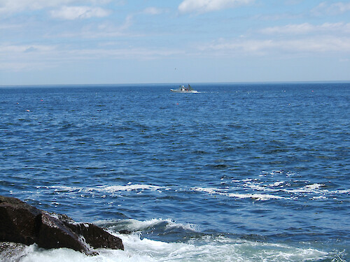 Lobster boat, Acadia National Park, Maine