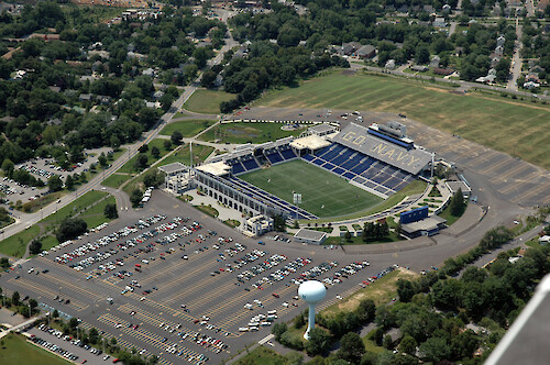 The Navy stadium in Annapolis, Maryland