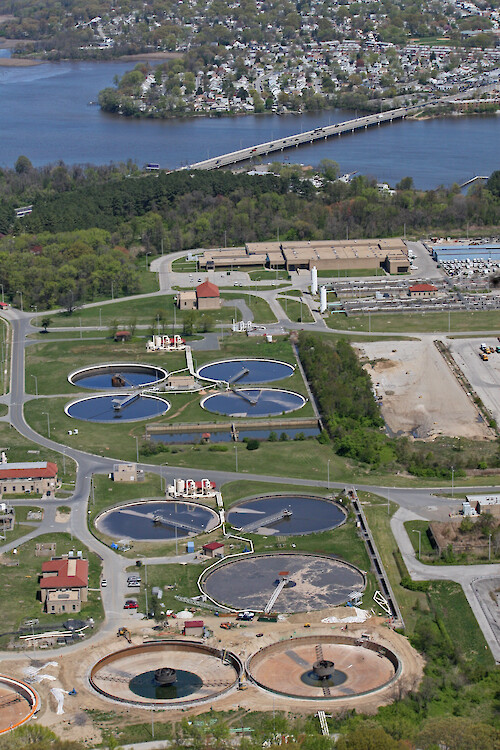 Back River Wastewater Treatment Plant, Maryland
