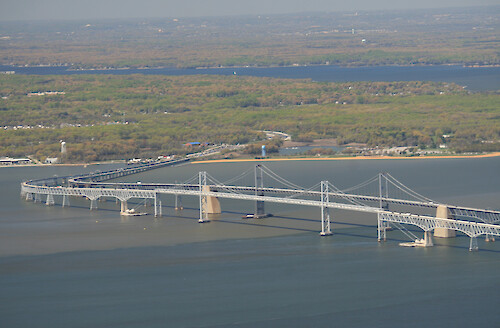 Bay Bridge, Chesapeake Bay, Maryland
