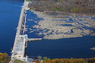 Conowingo Dam is the last Dam on the Susquehanna River before it empties into the Upper Chesapeake Bay. This is a series of photos taken on an overflight of the Dam and surrounding sites during mid-November, 2015. Conowingo Dam 4