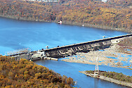 Conowingo Dam is the last Dam on the Susquehanna River before it empties into the Upper Chesapeake Bay. This is a series of photos taken on an overflight of the Dam and surrounding sites during mid-November, 2015.