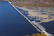 Conowingo Dam is the last Dam on the Susquehanna River before it empties into the Upper Chesapeake Bay. This is a series of photos taken on an overflight of the Dam and surrounding sites during mid-November, 2015. Conowingo Dam 6 - Conowingo Reservoir