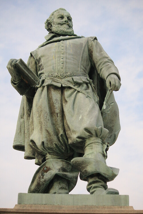 Statue of Captain John Smith at Historic Jamestowne, Colonial National Historical Park