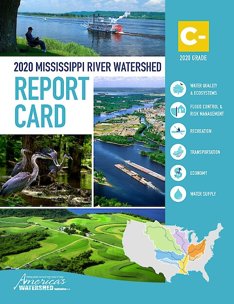 2020 Mississippi River Watershed Report Card (Page 1)