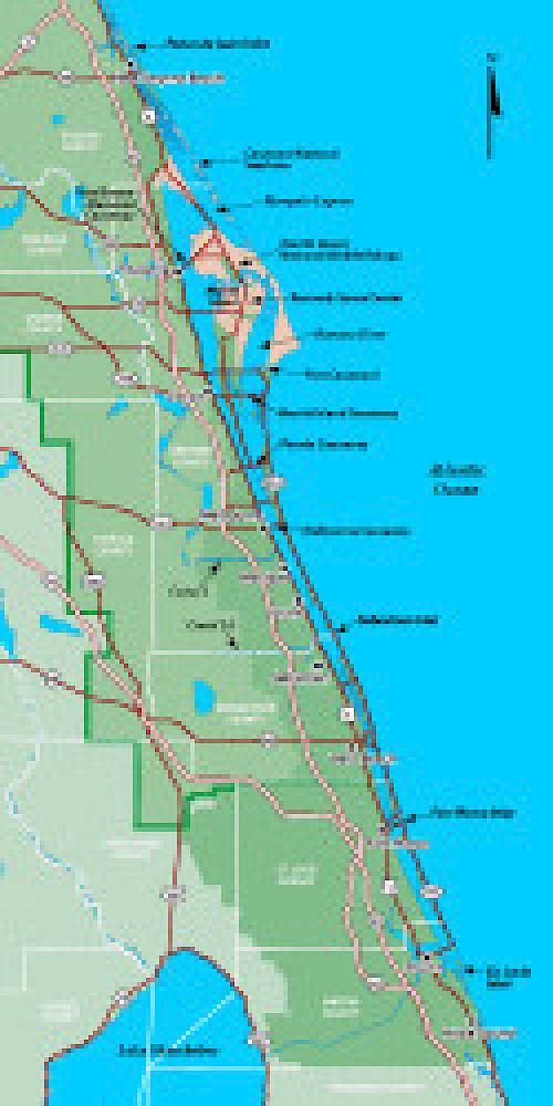 Indian River Lagoon Map