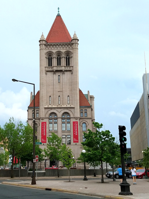 The Landmark Center is used for music, art, and culture events. Image credit: Caroline Donovan